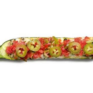 Tex-Mex Stuffed Zucchini