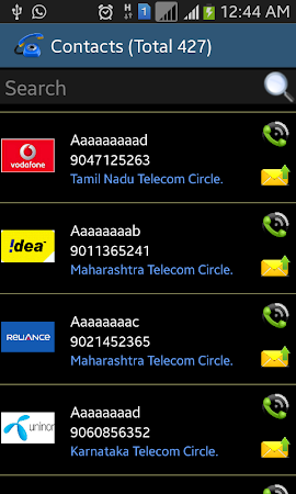 Mobile Number Tracker India 2.5 screenshot 383576
