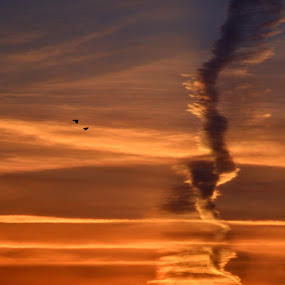 your trace by Rux Georgescu - Novices Only Landscapes ( clouds, sky, fine art, sunrise, morning )