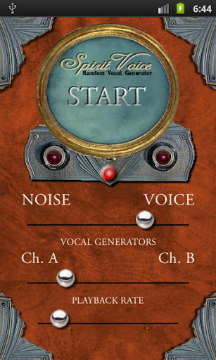 Screenshot for Spirit Voice 2.0 SW Ghost Box in United States Play Store