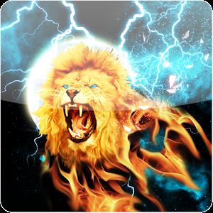 light lion wallpaper - photo #9
