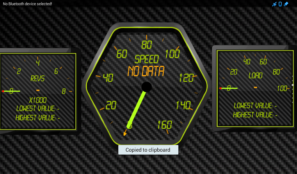 Torque Themes and Editor (OBD) - screenshot