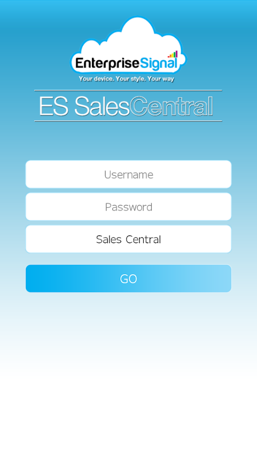 Sales Central- screenshot