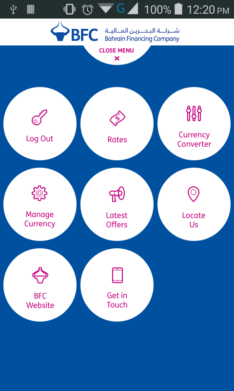BFC Currency Converter- screenshot