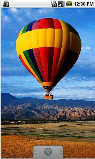 Sky Balloon HD Live Wallpaper