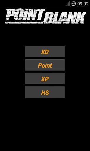 Point Blank Calculator