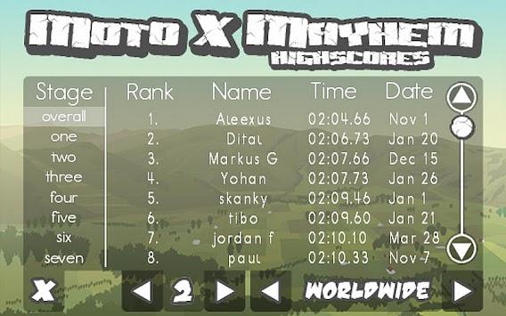 Moto X Mayhem Free APK screenshot thumbnail 7