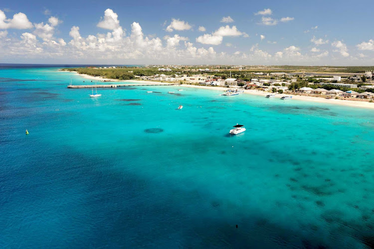 Spend a quiet day on the white sand beaches of Grand Turk, the capital island of the Turks and Caicos.