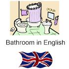 Learn Bathroom Words English icon