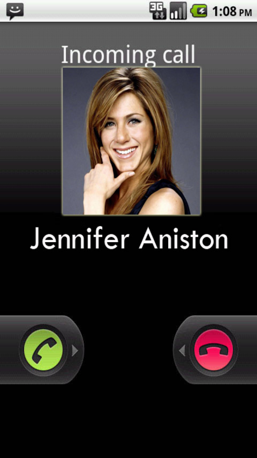 Jennifer Aniston Prank Calls - screenshot
