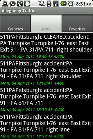 Allegheny Traffic Cameras Pro- screenshot