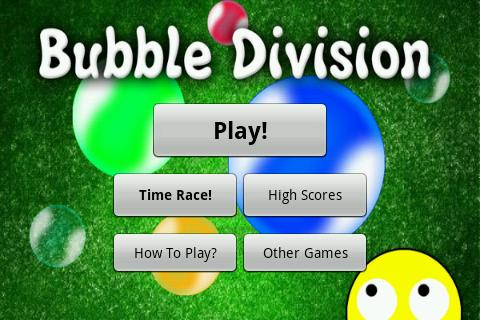 Bubble Division- screenshot