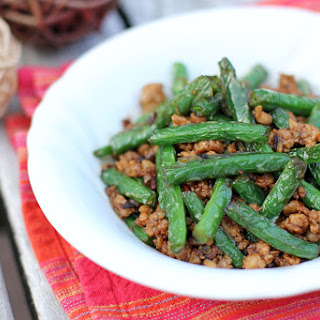 Stir-Fried Green Beans with Minced Pork in XO Sauce Recipe