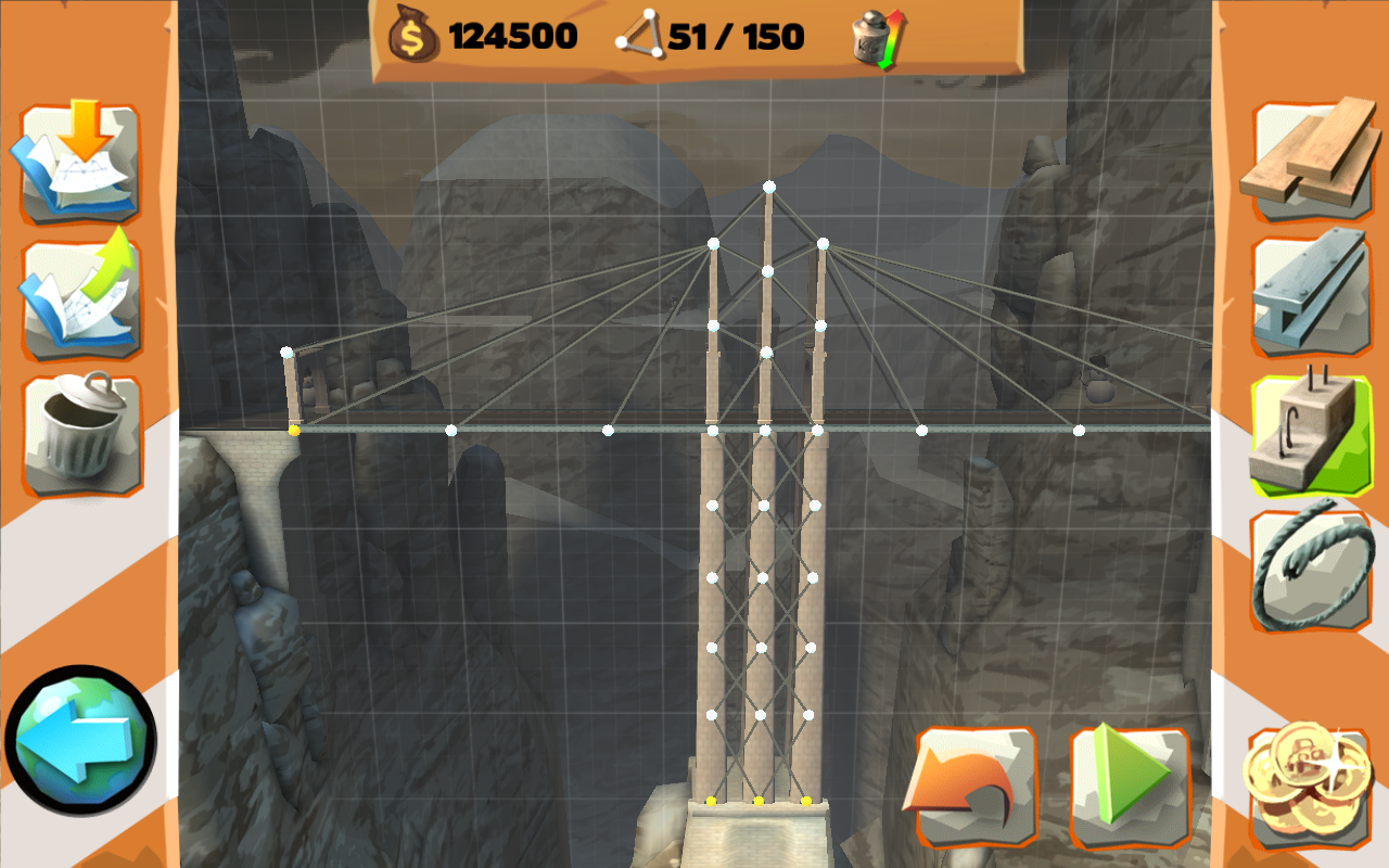 Bridge Constructor Playground- screenshot