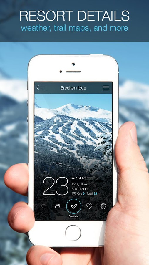 SNOCRU | Free Ski Tracking App- screenshot