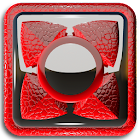 Next Launcher Theme red liz icon