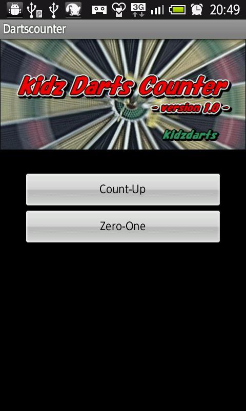 kidz darts counter- screenshot