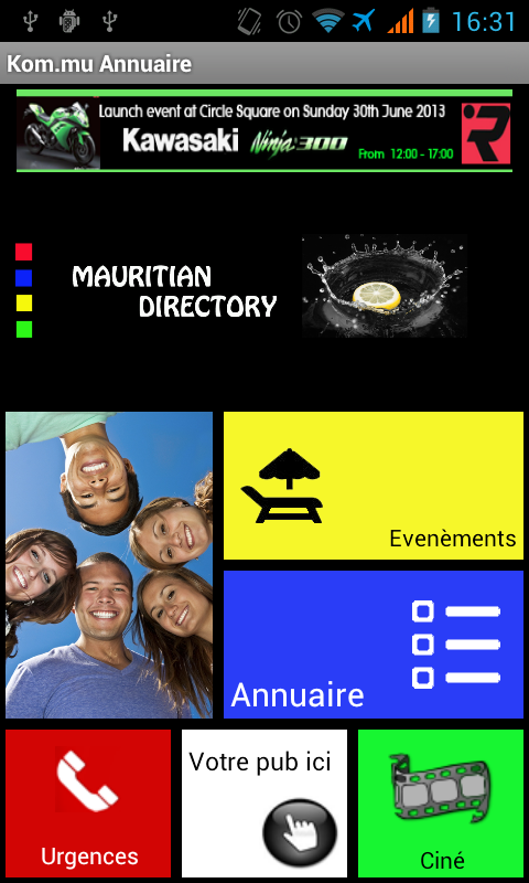Mauritius Directory - screenshot