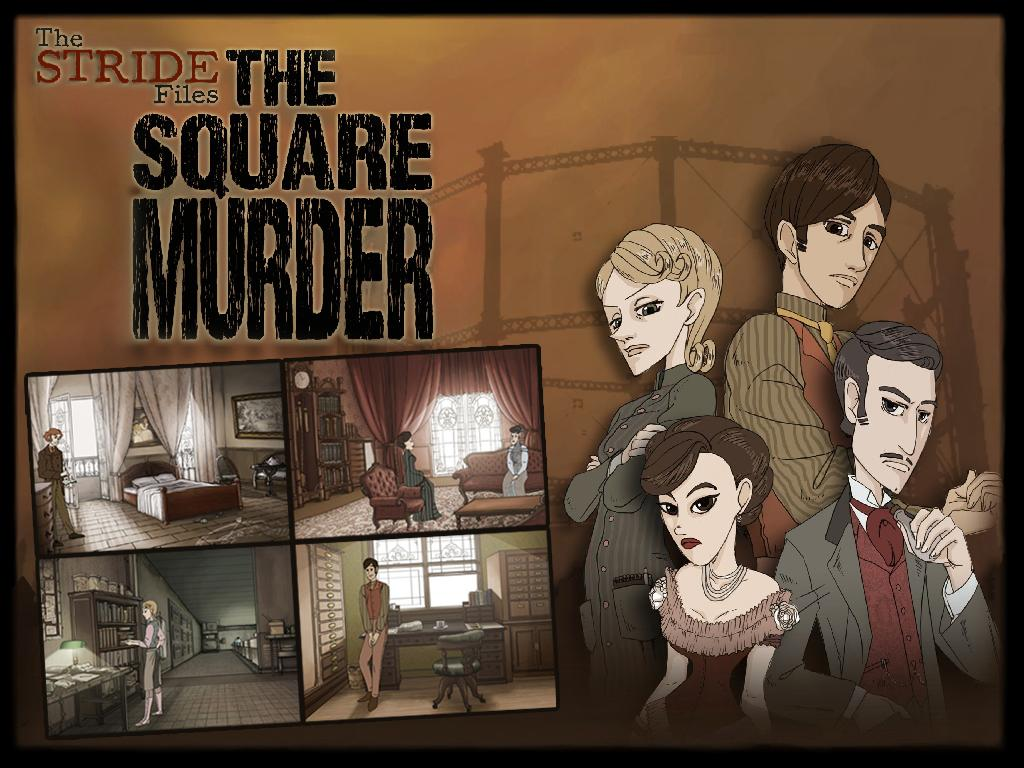 Stride Files The Square Murder - screenshot
