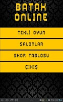 Screenshot of Batak Online (Eşli İhale)