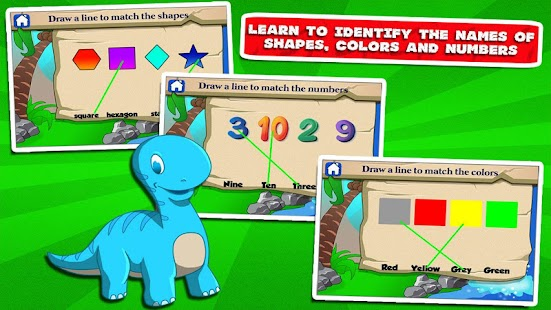 Dino Kindergarten Fun Games- screenshot thumbnail