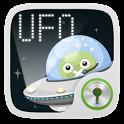 UFO GO Locker Theme icon