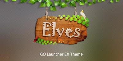 Screenshot of Elves GO Launcher Theme
