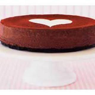 Chocolate Bliss Cheesecake.