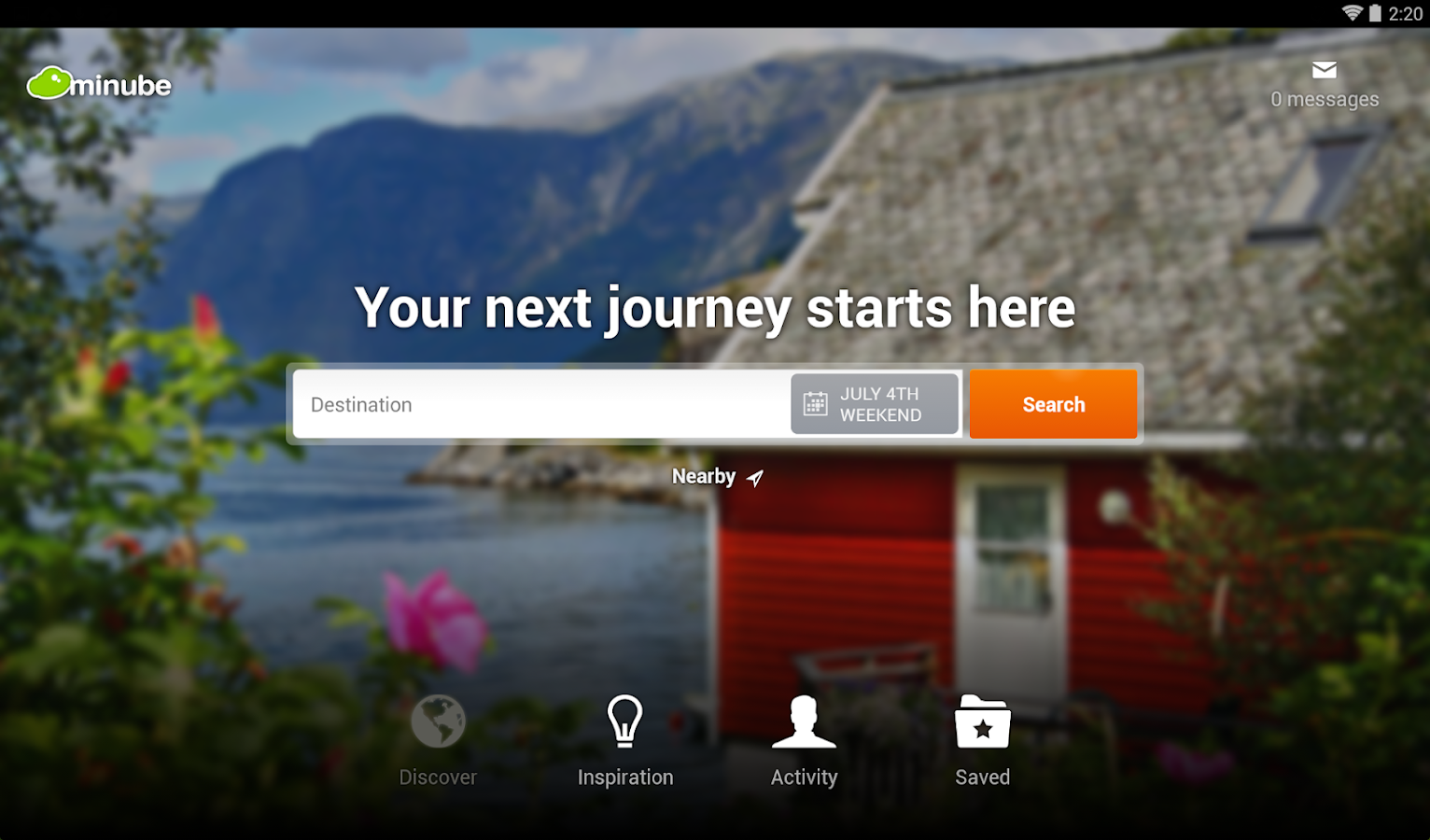 minube: travel planner & guide- screenshot