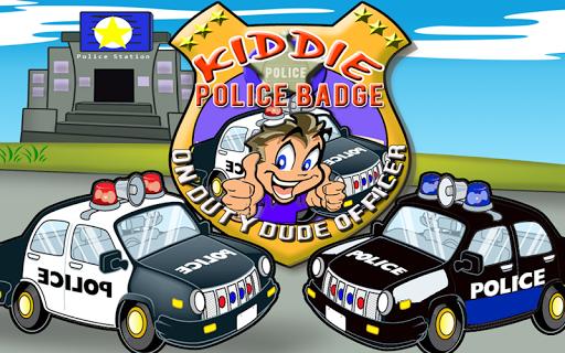 Kiddie Police Badge: On Duty