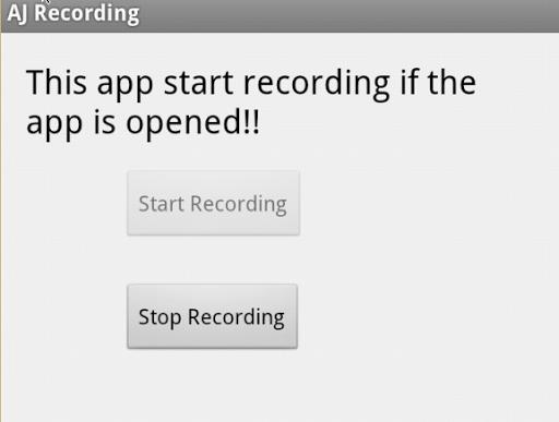 AJ Recording