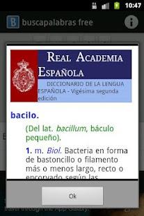 Buscapalabras-free - screenshot thumbnail