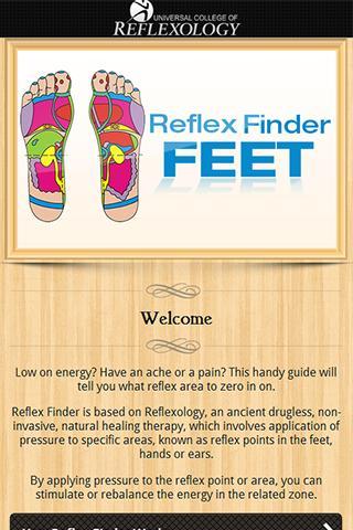 Reflex Finder : Feet