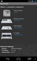 Screenshot of Titan Remote V8