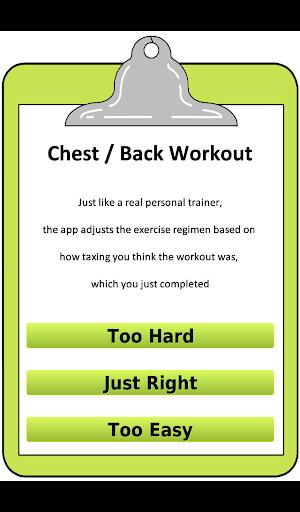 玩免費健康APP|下載女子胸部+背部鍛煉 app不用錢|硬是要APP