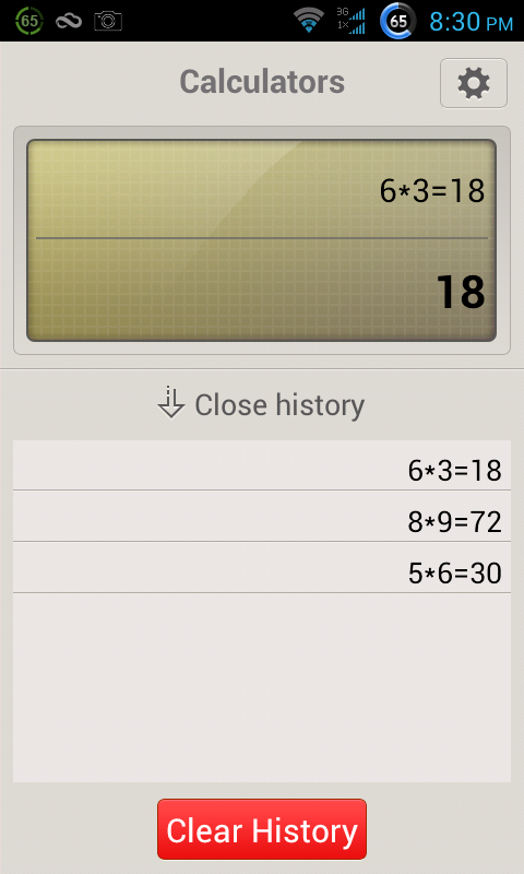 Voice Calculator+ - screenshot