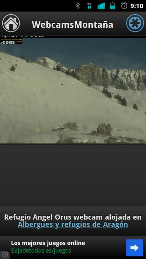 WebCamsMontaña- screenshot