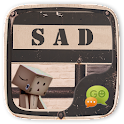 FREE - GO SMS SAD THEME icon