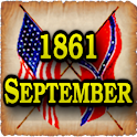 1861 Sept Am Civil War Gazette logo