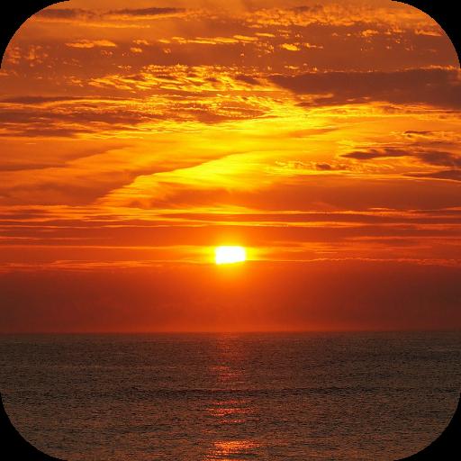 完美的日落動態壁紙 個人化 App LOGO-硬是要APP