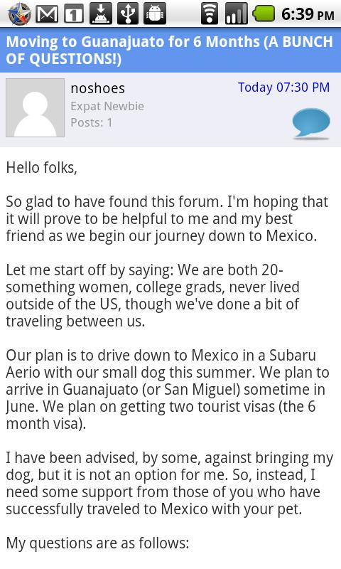 Expat Forum Community For Expa- screenshot