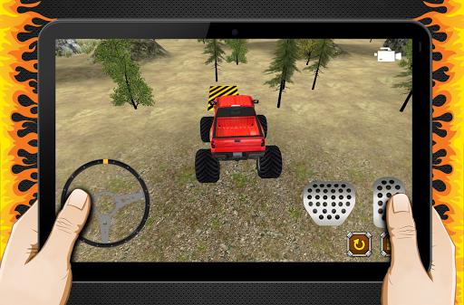 4×4吉普車停車冒險3D