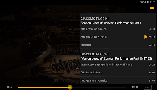 Digital Concert Hall Screenshot 21