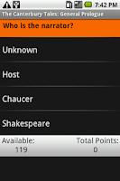 Screenshot of The Canterbury Tales: Gener...