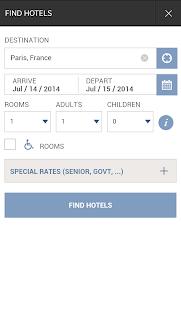 Hyatt Hotels - screenshot thumbnail