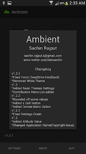 Ambient - screenshot thumbnail