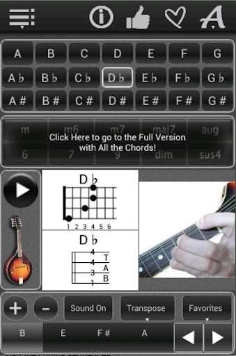 Mandolin Chords lite