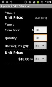 Super Shopping Calculator screenshot 4