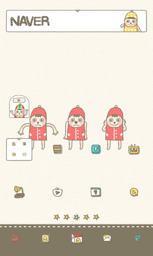 Knit Man Dodol launcher theme