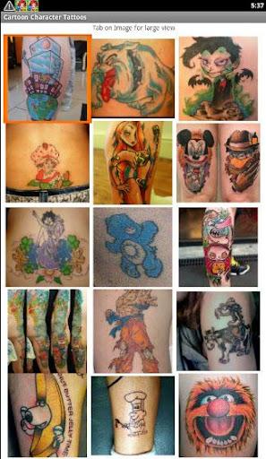 Cartoon Tattoos Designs